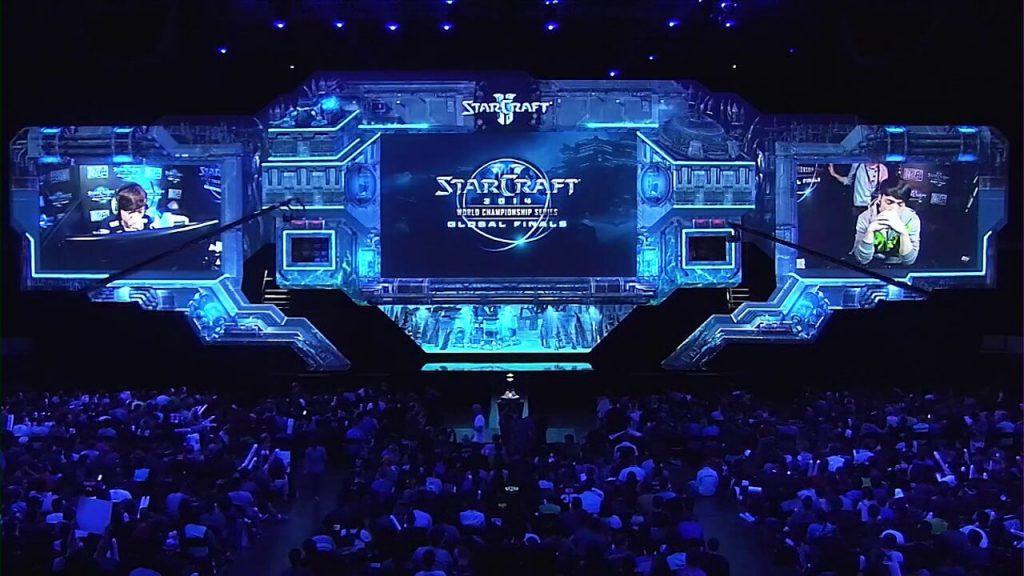 Starcraft II tournament esports